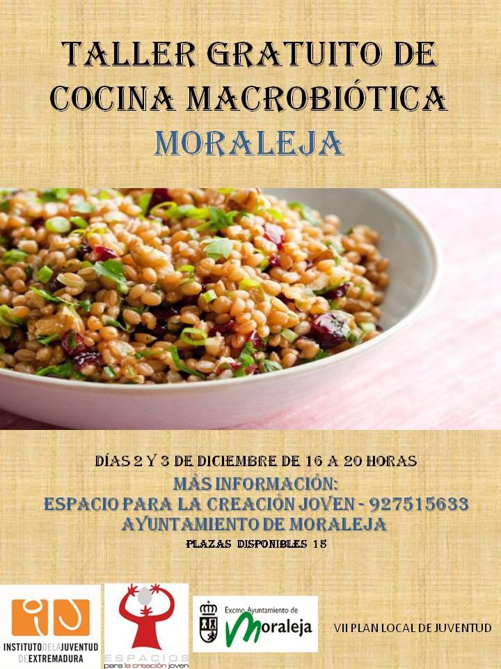 Taller de cocina macrobi tica ayuntamiento de moraleja for Cocina macrobiotica