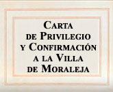 Carta de Privilegio y Confirmación a la Villa de Moraleja
