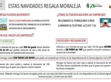 """""""ESTAS NAVIDADES REGALA MORALEJA"""""""