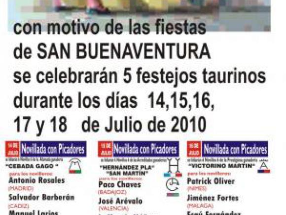 VENTA ANTICIPADA DE ENTRADAS Y ABONOS PARA LOS FESTEJOS TAURINOS