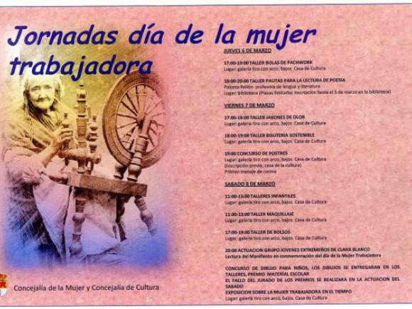 JORNADAS DÍA DE LA MUJER TRABAJADORA