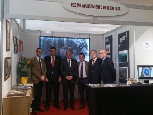 MORALEJA PRESENTE EN LA I FERIA INTERNACIONAL DEL TORO DE CORIA