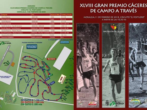 XLVIII GRAN PREMIO CÁCERES DE CAMPO A TRAVÉS EN MORALEJA