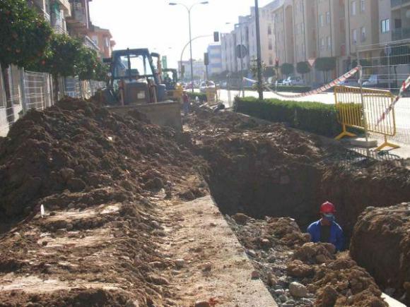 OBRAS DE SUSTITUCIÓN DE LAS REDES DE SANEAMIENTO EN LA AVENIDA PUREZA CANELO