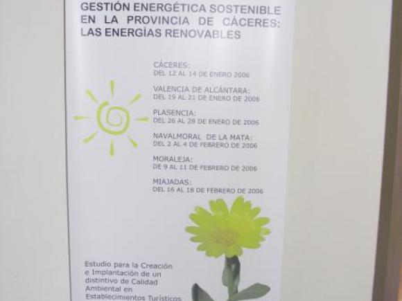 INAUGURACIÓN DE LA EXPOSICIÓN DE ENERGIAS RENOVABLES