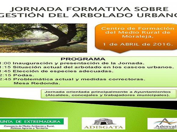 JORNADA FORMATIVA SOBRE GESTIÓN DEL ARBOLADO URBANO