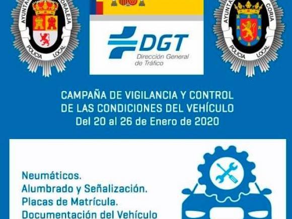 CAMPAÑA CONTROL Y VIGILANCIA DE LAS CONDICIONES DE LOS VEHÍCULOS