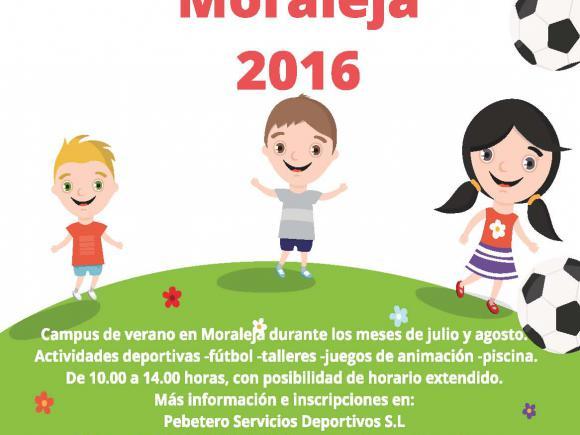 CAMPUS MULTIDEPORTIVO MORALEJA 2016