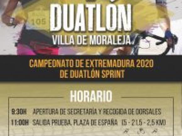 EL DUATLÓN VILLA DE MORALEJA, SE APLAZA AL 27 DE SEPTIEMBRE