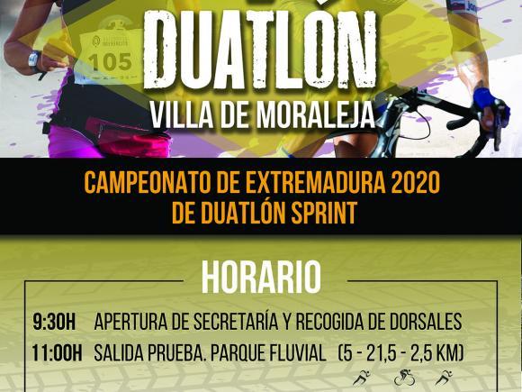 V DUATLÓN VILLA DE MORALEJA CAMPEONATO DE EXTREMADURA DE DUATLÓN SPRINT