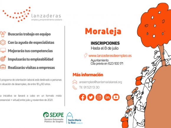 MORALEJA CONTARÁ EN JULIO CON UNA NUEVA LANZADERA  DE EMPLEO