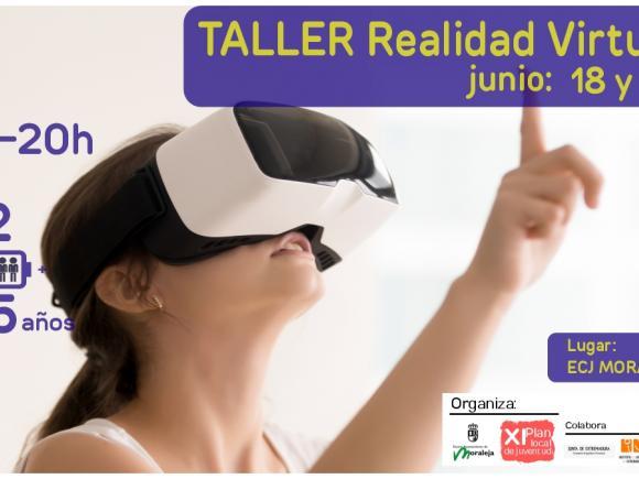 TALLER REALIDAD VIRTUAL JUNI LOS DIAS 18 Y 19