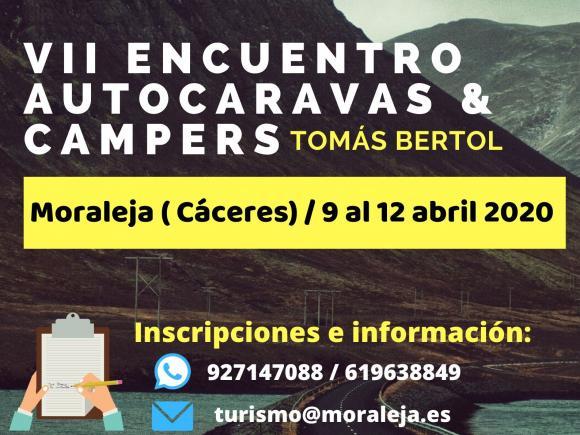 VII ENCUENTRO AUTOCARAVANAS TOMÁS BERTOL