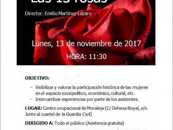"CINE-FÓRUM ""LAS 13 ROSAS"""