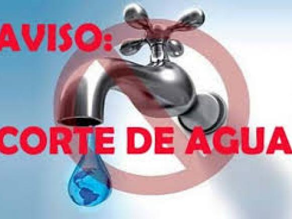 AVISO CORTE DE SUMINISTRO DE AGUA POTABLE