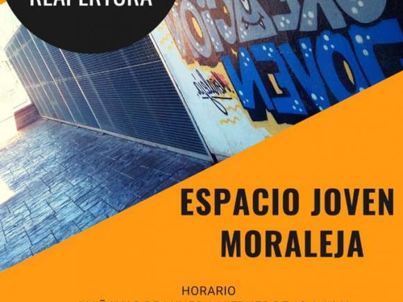 REAPERTURA DEL ESPACIO PARA LA CREACIÓN JOVEN DE MORALEJA.