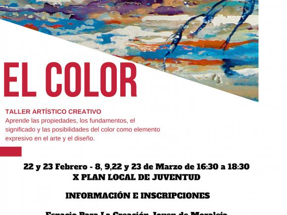 "EL COLOR"" TALLER ARTÍSTICO CREATIVO"