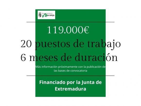 SELECCIÓN DE TRABAJADORES AL AMPARO DE LA RESOLUCIÓN DE 14 DE SEPTIEMBRE DE 2020, DE LA CONSEJERÍA DE EDUCACIÓN Y EMPLEO DE LA JUNTA DE EXTREMADURA, POR LA QUE SE ESTABLECEN LAS BASES REGULADORAS DEL PROGRAMA DE EMPLEO DE EXPERIENCIA, EJERCICIO 2020.