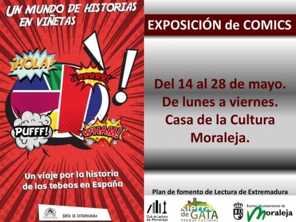EXPOSICIÓN DE CÓMICS UN MUNDO DE HISTORIAS EN VIÑETAS