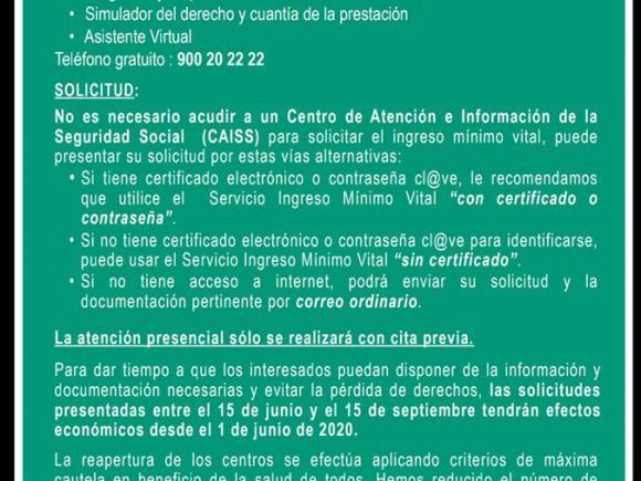 INFORMACIÓN BÁSICA INGRESO MÍNIMO VITAL