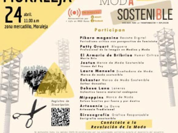 """24 DE ABRIL  DIA MUNDIAL DE LA """"MODA SOSTENIBLE"""""""