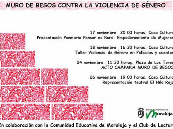 CAMPAÑA MURO DE BESOS CONTRA LA VIOLENCIA DE GÉNERO