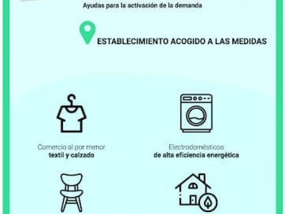 AYUDAS DE LA JUNTA DE EXTREMADURA PARA LA REACTIVACIÓN DE LA DEMANDA TRAS EL COVID 19 DIRIGIDAS AL COMERCIO