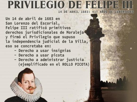 I JORNADAS DE PRIVILEGIO DE FELIPE III