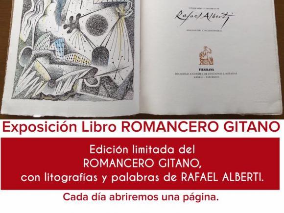 EXPOSICIÓN LIBRO ROMANCERO GITANO
