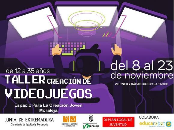 TALLE CREACION DE VIDEOJUEGOS