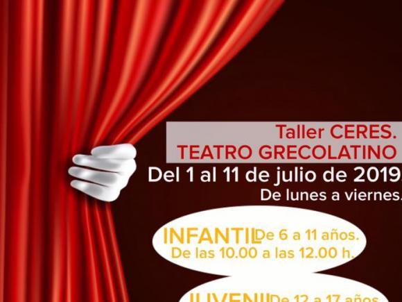 TALLER DE TEATRO GREGOLATINO CERES.