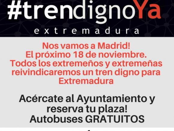 #TREN DIGNO YA EN EXTREMADURA