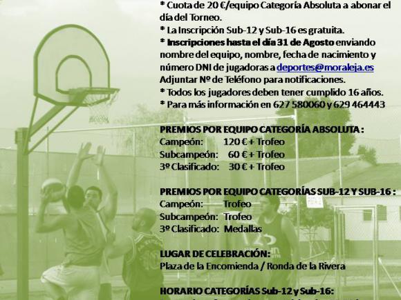 XVIII TORNEO 3X3 DE BALONCESTO