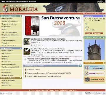 Nueva Web Oficial del Ayuntamiento de Moraleja