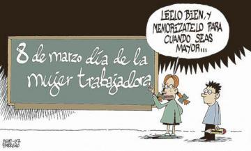 """8 DE MARZO """"DÍA DE LA MUJER TRABAJADORA"""""""
