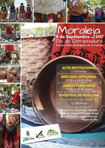 MORALEJA 8 DE SEPTIEMBRE 2017 DÍA DE EXTREMADURA