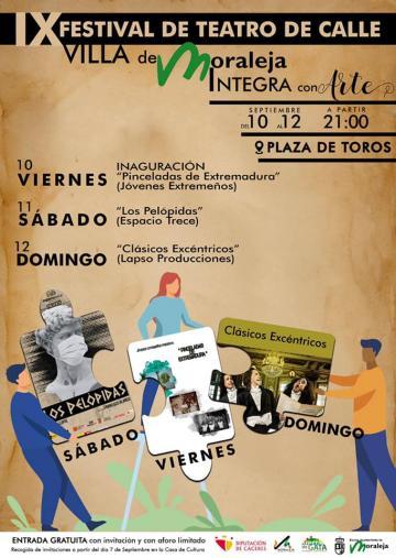 IX FESTIVAL DE TEATRO DE CALLE Integra Con Arte - Villa de Moraleja
