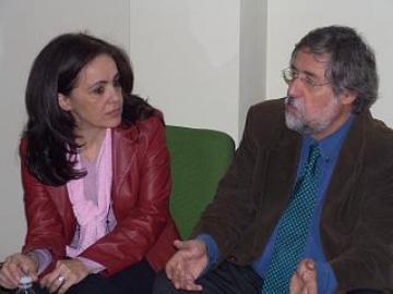 EL PRESIDENTE DE LA AGENCIA EXTREMEÑA DE LA VIVIENDA VISITA MORALEJA