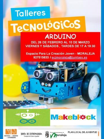 TALLERES TECNOLÓGICOS ARDUINO