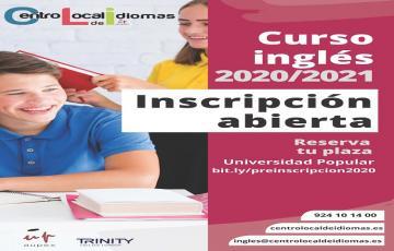 CENTRO LOCAL DE IDIOMAS DE LA UNIVERSIDAD POPULAR- CLASES DE INGLÉS