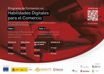 PLAN DE IMPULSO PARA LA TRANSFORMACIÓN DIGITAL DEL COMERCIO EN LA PROVINCIA DE CÁCERES