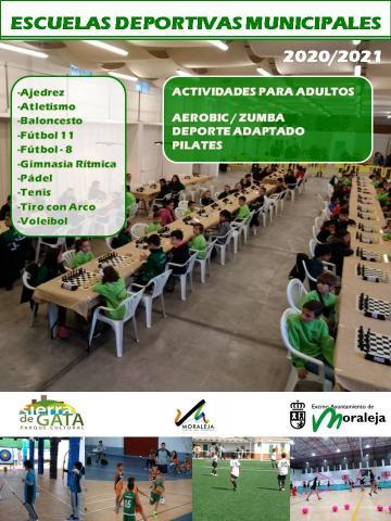 MIÉRCOLES 14 DE OCTUBRE COMIENZA EL PERIODO DE INSCRIPCIONES PARA LAS ACTIVIDADES DEPORTIVAS DE ADULTOS
