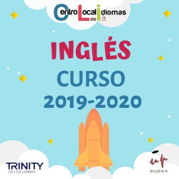 ANUNCIO  CENTRO LOCAL DE IDIOMAS DE LA UNIVERSIDAD POPULAR - CLASES DE INGLÉS