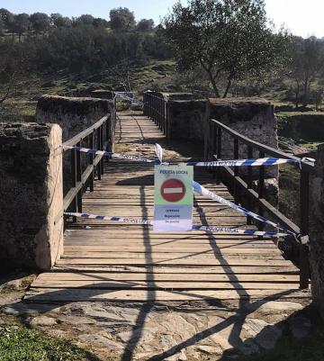 ARREGLO Y REPARACIÓN DEL PUENTE DEL CHORRERÓN