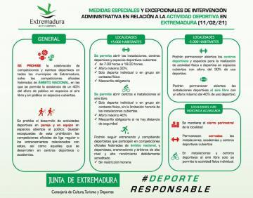 APERTURA DE LAS INSTALACIONES DEPORTIVAS MUNICIPALES