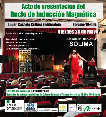 ACTO DE PRESENTACIÓN DEL BUCLE DE INDUCCIÓN MAGNÉTICA EN MORALEJA