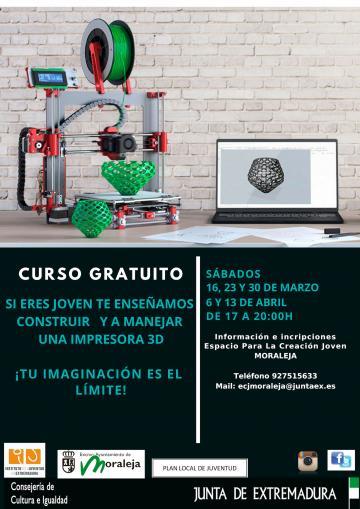 CURSO GRATUITO DE IMPRESIÓN 3D