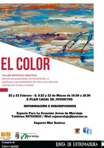 """EL COLOR"""" TALLER ARTÍSTICO CREATIVO"""