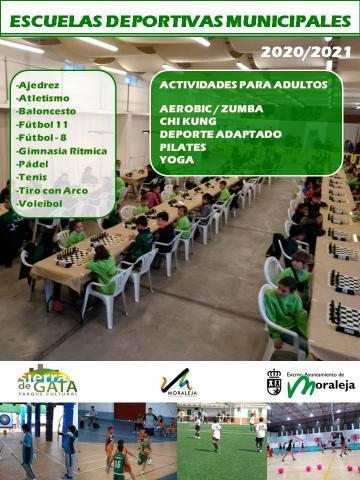 ESCUELAS DEPORTIVAS MUNICIPALES 2020/2021
