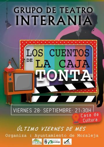GRUPO DE TEATRO INTERANIA, LOS CUENTOS DE LA CAJA TONTA